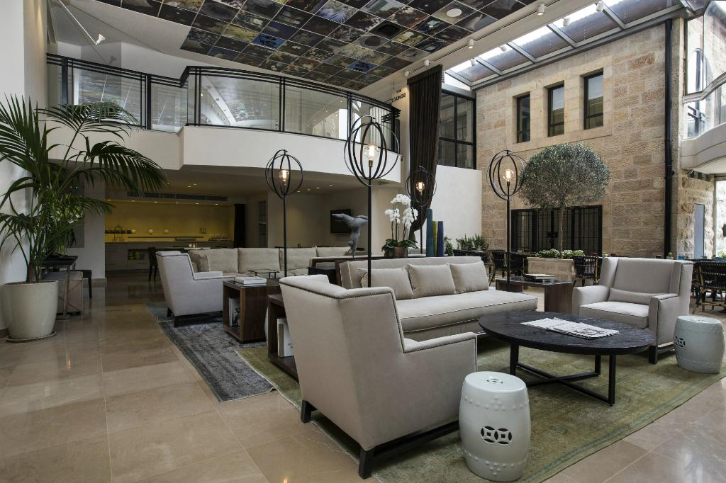 harmony hotel lobby