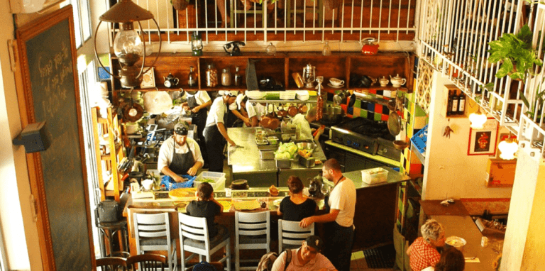 Mahane Yehuda restaurant
